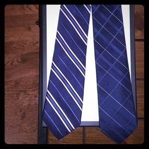 DKNY ties bundle of two
